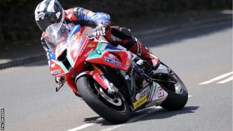 Michael Dunlop now has nine carer wins at the Isle of Man TT races