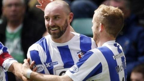 Kilmarnock's Kris Boyd celebrates