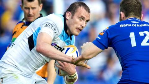 Glasgow Warriors forward Al Kellock