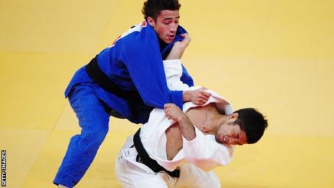 Judo medallist Ashley McKenzie