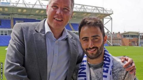 Darren Ferguson and Ehrun Oztumer