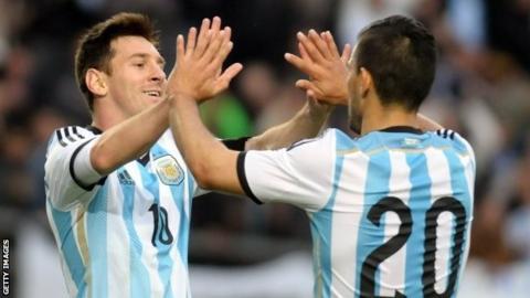 Lionel Messi & Sergio Aguero