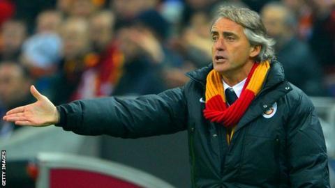 Roberto Mancini at Galatasaray