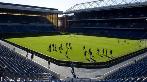 Ibrox Stadium will host the Scots' opening home match