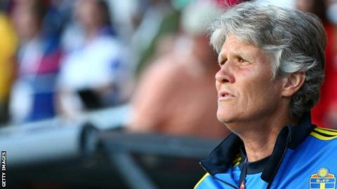 Scotland coach Pia Sundhage