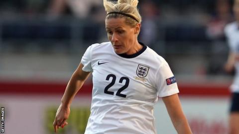 England's Kelly Smith