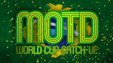 Match of the Day's World Cup Catch-up
