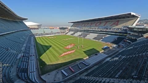 Kings Park, Durban, where Wales will take on South Africa in the first Test of their summer tour on Saturday.