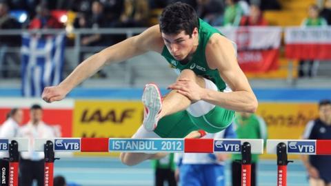 Northern Ireland athlete Ben Reynolds