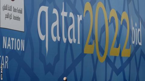 Qatar 2022 World Cup bid banner