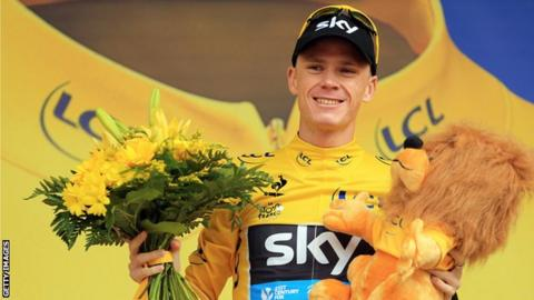 Chris Froome became only the second-ever British winner of the Tour de France last year, following Sir Bradley Wiggins's success in 2012
