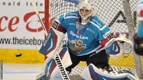 Giants netminder Stephen Murphy