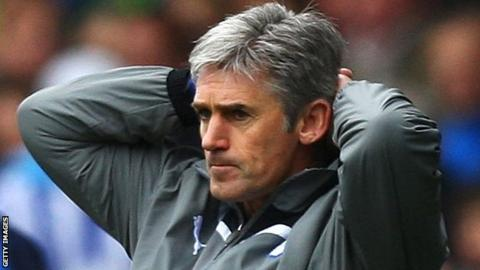 Alan Irvine lasted only 13 months as manager of Sheffield Wednesday