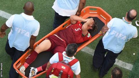 Portugal's Fabio Coentrao