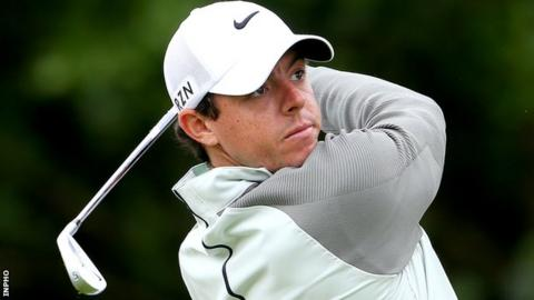McIlroy is seeking his first professional victory in Ireland