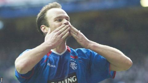 Christian Nerlinger during his spell with Rangers