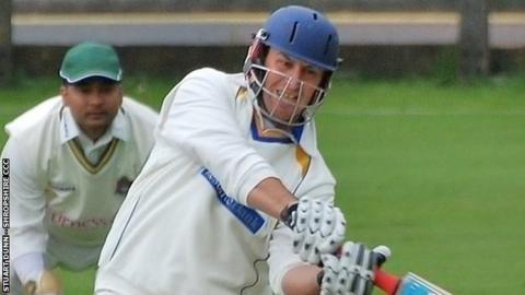 New Shropshire skipper Anthony Parker