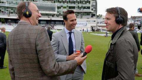 Test Match Special team interview Graeme Swann