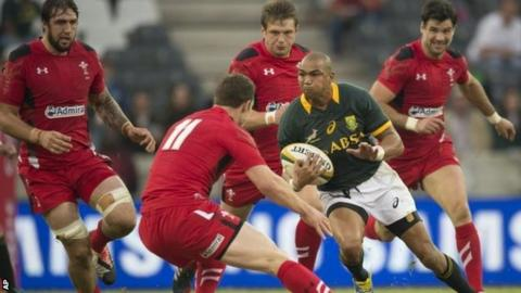South Africa v Wales