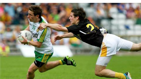 Darach O'Connor makes ground at the expense of Kevin Boyle as Donegal progress to another Ulster SFC final