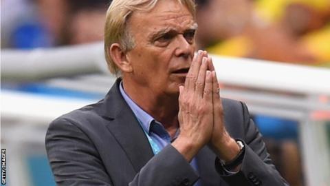 Cameroon coach Volker Finke