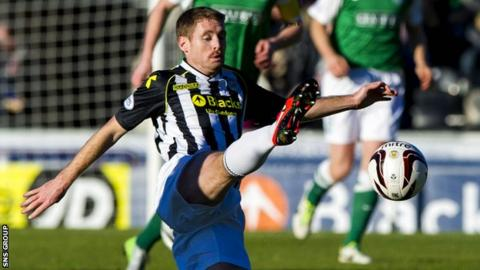 David van Zanten made his St Mirren debut in 2003