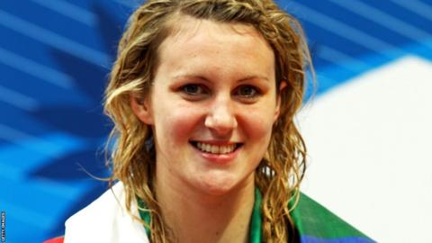 Delhi 2010: Swimmer Jazz Carlin won 200m freestyle silver and 400m freestyle bronze.