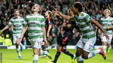 Celtic managed one win in the Champions League group stage last season