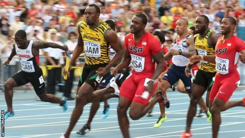 Usain Bolt leads Jamaica to 4x100m relay gold at the 2013 World Championships