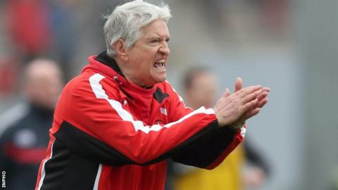 Derry boss Brian McIver is from Arboe in Co Tyrone