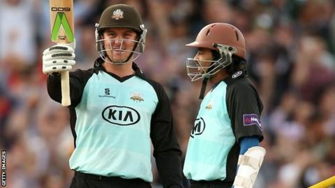 Jason Roy and Tillakaratne Dilshan