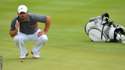 English golfer Paul Casey