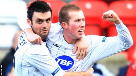 Stephen Dooley played for Northern Ireland U18s