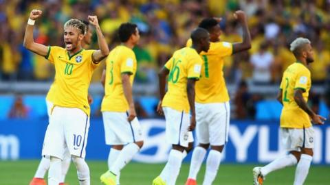 Brazil break Chile hearts by winning the first penalty shoot-out of the 2014 World Cup