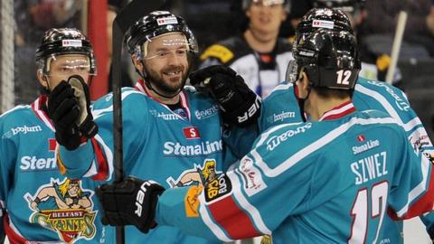 The Belfast Giants clinched the Elite League in February
