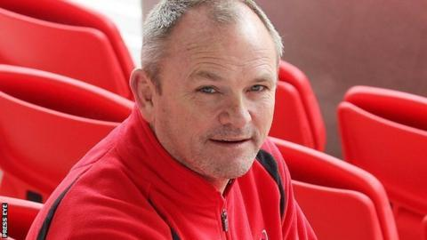 Ulster coach Mark Anscombe