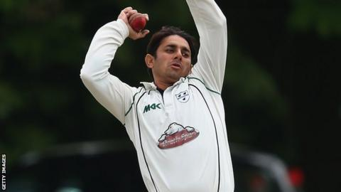 Worcestershire and Pakistan spinner Saeed Ajmal