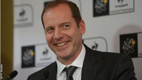 Tour de France director Christian Prudhomme