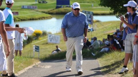 Kevin Stadler, French Open leader after two rounds