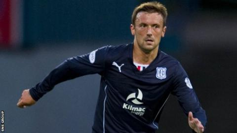 Kevin McBride resumed training with Dundee before signing his new deal