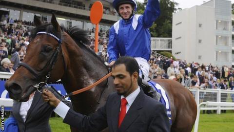 Paul Hanagan wins the Coral-Eclipse on Mukhadram