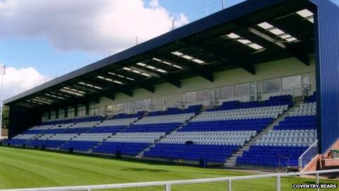 Coventry Rfc Plan Butts Park Arena Redevelopment
