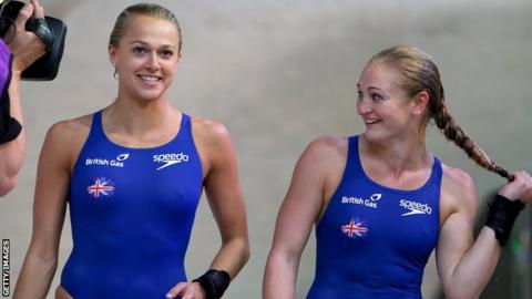 Tonia Couch (left) and Sarah Barrow