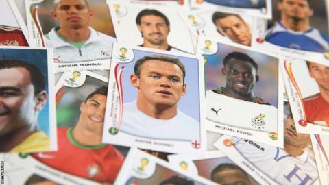 Wayne Rooney on a sticker