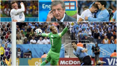 England v Uruguay at World Cup 2014