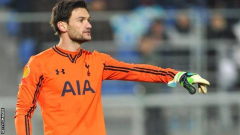 Spurs goalkeeper Hugo Lloris