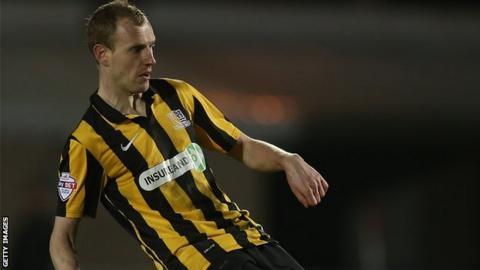 Tranmere Rovers midfielder Marc Laird