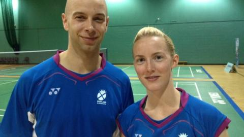 Imogen Bankier and Robert Blair