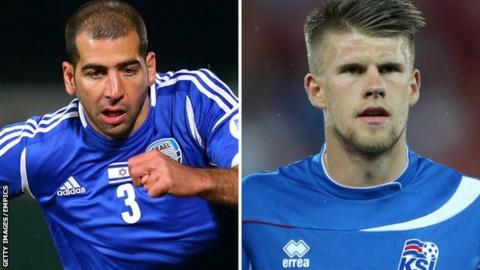 Tal Ben Haim and Johann Berg Gudmundsson