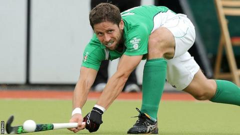 Ronan Gormley scored Ireland's only goal against England